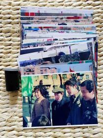 【超珍罕 怀旧80年代 那时的星期天工厂组织义务劳动 和 人民风貌】  80年代 fuji(富士)底片38张扫描后7寸打印照片38张