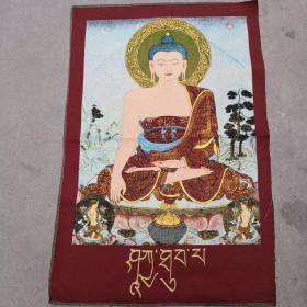 唐卡刺绣织锦绣画
