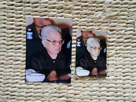 【超珍罕 】  中国新闻社著名摄影记者赵振清摄影作品 骆玉笙 95年9月 中国曲艺节 5寸 原照+底片+7寸扫描后照片