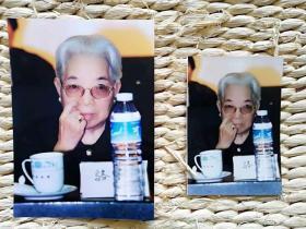 【超珍罕 】  中国新闻社著名摄影记者赵振清摄影作品 骆玉笙 95年9月 第二界曲艺节 5寸 原照+底片+7寸扫描后照片