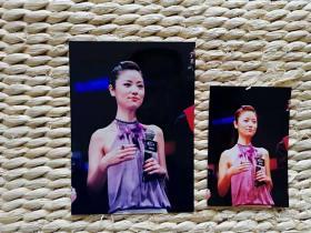 【超珍罕 】  中国新闻社著名摄影记者赵振清摄影作品 林心如 5寸 原照+fuji(富士)底片+7寸扫描后照片