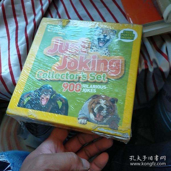 JustJokingCollector'sSet(BoxedSet)900HilariousJokesAboutEverything