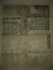 侵华老报纸 东京日日新闻1937年8月11日 日军北平入城 北京朝阳门