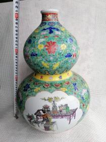 粉彩瓷器葫芦瓶特价