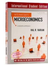 中级微观经济学(第八版) 英文原版 Intermediate Microeconomics 经济金融 HalR Varian