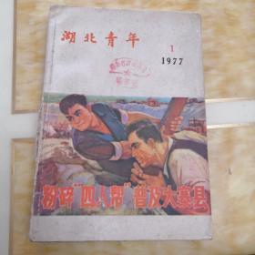 湖北青年(1977年1一6期)共6本