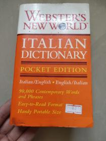 Webster's New World Italian Dictionary (Pocket Edition)【韦氏新世界意英英意词典,英文原版】
