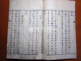 康熙刻本诗持二集存卷四五六,三卷合订一厚册。