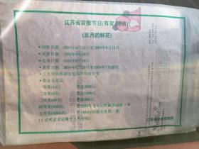 江苏省邮电局有奖明信片 标价无效,价格您说了算,欢迎私聊 本店商品满百包邮