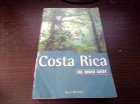 Costa Rica   THE ROUGH GUIDE 1996年 32开平装 原版外文 图片实拍