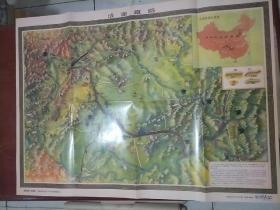 成渝铁路地图(复制版《地图》杂志2010第一期随刊增送)
