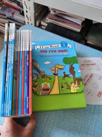 I Can Read 系列12册合集 2CD Syd Hoff 12-Book box set 2 CD 第一阶段/附光盘