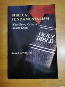 英文原版:Biblical Fundamentalism