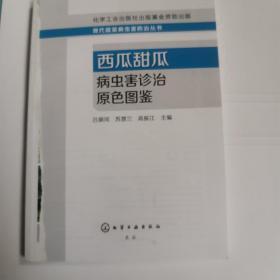 现代蔬菜病虫害防治丛书:西瓜甜瓜病虫害诊治原色图鉴