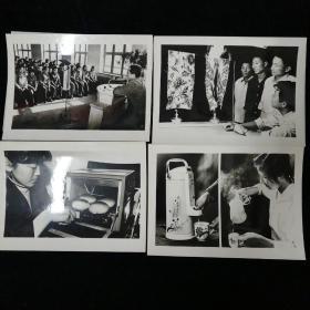 1984年新华社供稿•山东新闻图片社出版•《新技术新设备》新闻展览照片•存10张!•配说明纸条10张•带原纸袋包装•好品相!