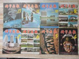 科学画报 1990年第4、5、6、7、8、10、11、12期(8期合售)  e18-6
