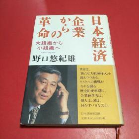 日本経済:企业からの革命-大组织から小组织へ(日文原版 精装)