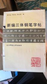 新编三体钢笔字帖
