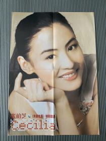 张柏芝 早期 当代歌坛 大嘴鳄鱼 明星海报