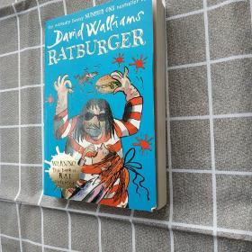Ratburger 大卫·少年幽默小说系列新作品:鼠堡包(平装)