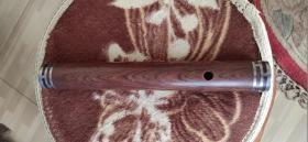 黄花梨大管,木质细腻、纹路精美、做工大气