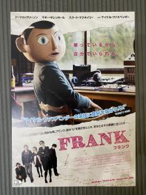 弗兰克 电影 小海报 日版海报