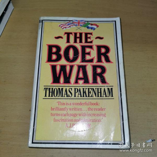 The Boer War Thomas pakenham布尔战争托马斯帕克