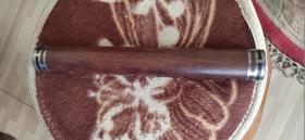 黄花梨大管,木质细腻、纹路精美、做工大气、非常值得收藏把玩。26-3.2cm