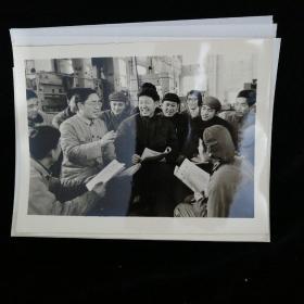 1970年代新华社新闻展览照片•文革时期工业生产照片•15张 合售•好品相!