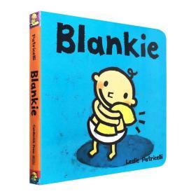 毛毯 英文原版 Blankie 一根毛脏小孩系列绘本 幼儿英语启蒙认知 Leslie Patricelli 培养宝宝的行为习惯英语学习纸板书 英文版