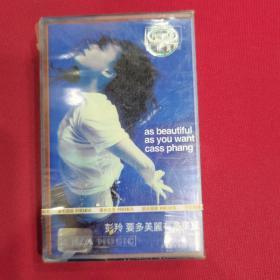 彭羚要多美丽有多美丽CD磁带未拆封