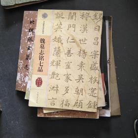 魏墓志铭七品(中国著名碑帖精选)