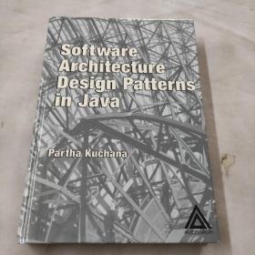 Software Architecture Design Patterns in Java Java中的软件体系结构设计模式  英文