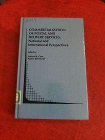 COMMERCIALIZATION OF POSTAL AND DELIVERY SERVICES : National and International Perspectives(精装,馆藏,正版进口图书!)