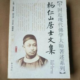 中国近现代佛学大师著述系列:杨仁山居士文集