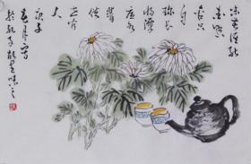 【自写自销】当代艺术家协会副主席王丞手绘!味苦谁能爱2087