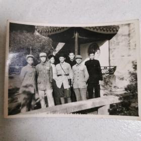 早期老照片  军人合影