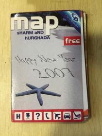 Map Sharm and Hurghada