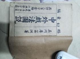 中外戏法图说光绪石印五册缺一册(9一Io卷