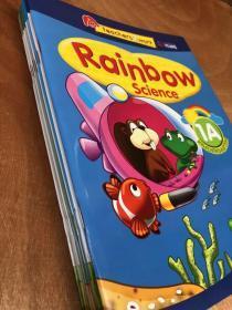 新品 彩虹科学 rainbow science 8册 彩虹幼儿园科学教材教辅8册套装 新加坡幼儿园教辅教材