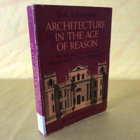 architecture in the age of reason,baroque and post baroque in England italy France