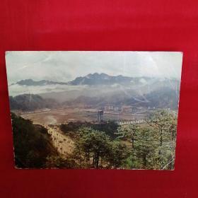 茨坪明信片(毛主席旧居 这个拍摄角度不同)
