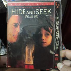 捉迷藏DVD。