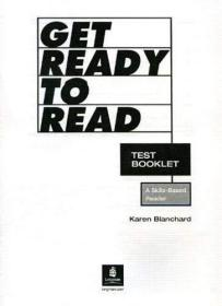 Get Ready to Read Test Booklet