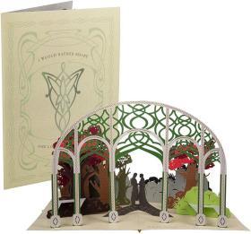 预售指环王阿拉贡和亚文立体卡片Lord of the Rings: Aragorn and Arwen Pop-Up