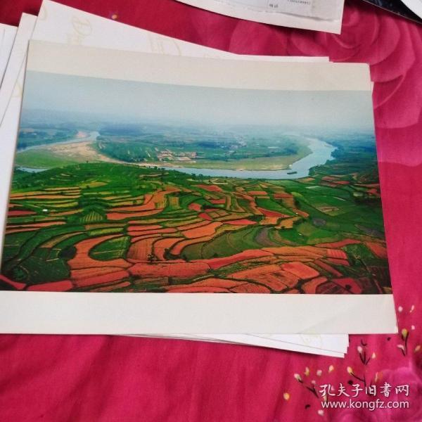 中国黄冈风情大别山全国摄影大展参赛入选作品原照片《红土地》