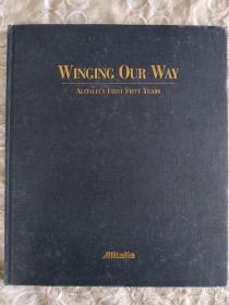 外文版    意大利航空的第一个五十年     1947~1997年