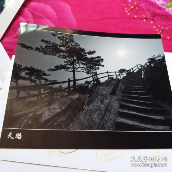 中国黄冈风情大别山全国摄影大展参赛入选作品原照片《天路》