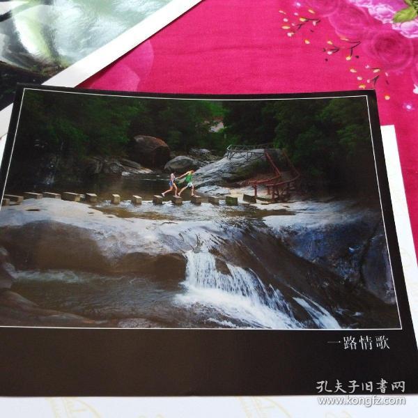 中国黄冈风情大别山全国摄影大展参赛入选作品原照片《一路情歌》