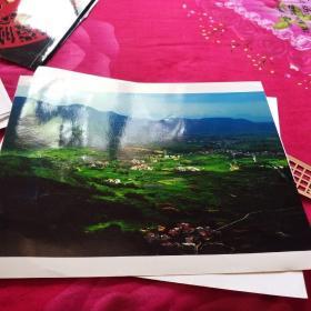 中国黄冈风情大别山全国摄影大展参赛入选作品原照片《横岗秀色》